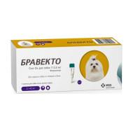 Bravecto / Бравекто  Спот Он для собак (112,5 мг) 2-4,5 кг