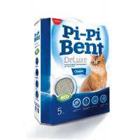 Наполнитель Pi-Pi-Bent DeLuxe Classic комкующийся д/кошек 5кг*4