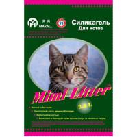 Mimi Litter Наполнитель силикагелевый для котов, зеленые гранулы