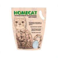 HOMECAT Стандарт Силикагелевый наполнитель для кошачьих туалетов