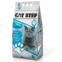 Cat Step Наполнитель комкующийся минеральный Compact White Original 5 литров